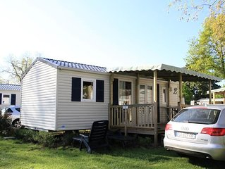 Camping Isle Verte**** - Cottage 3 pièces 4 personnes