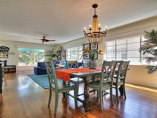 NEW RATES! West Beach Villa in center of everything, beach, pier, harbor, State