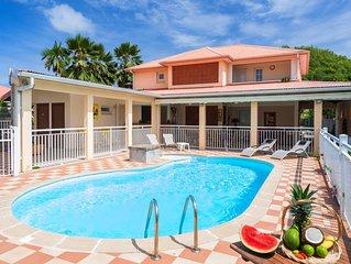 Villa avec piscine privee sur la route des plages – prix d'appel
