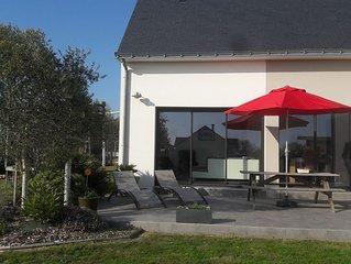 Maison contemporaine La Baule / Pornichet - 169m2  - 8/9 couchages
