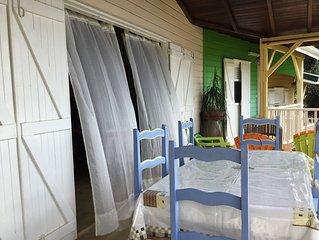 Villa en bois pas loin des plages