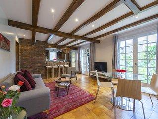 Belle maison avec grand jardin proche Paris et Disneyland