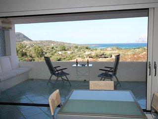 Luxueux et agreable appartement 120m2,  avec vue magnifique et acces direct mer.