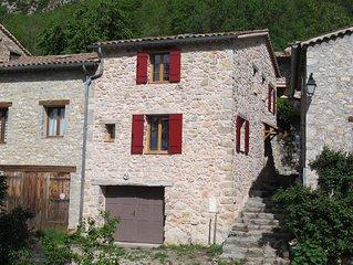 Maison de vacances dans un petit hameau pittoresque