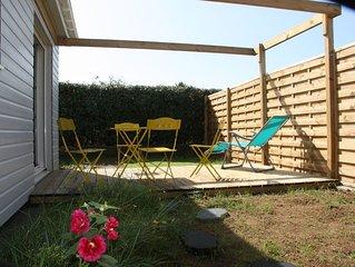 La Chaume Appartement 2 pièces dans maison ossature bois terrasse pergola