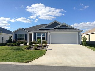 Pet Friendly 3 Bdrm 2 Ba home with Golf Cart, BBQ Grill & WiFi included!