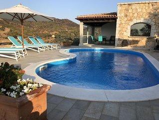 Villa mit traumhaftem Meerblick und privatem Pool auf 1000m2 grossem Grundstuck