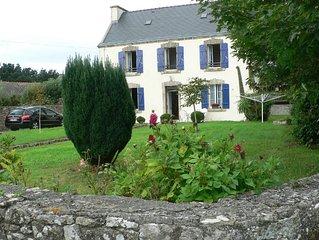 Gîte indépendant 5 personnes jardin clos, proximité: plages'Audierne, Pont Croix