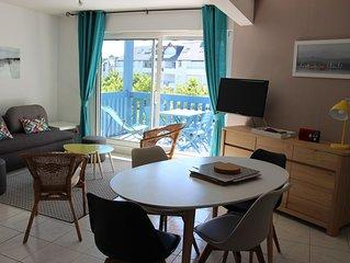 Appartement idéalement situé à 50 m du port du Crouesty et à 5mns plages