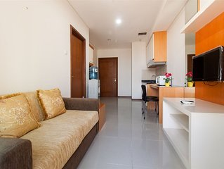 1BR Prime Location Thamrin Executive By Travelio