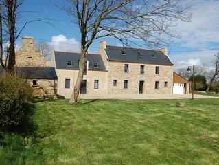 Maison familiale typiquement bretonne