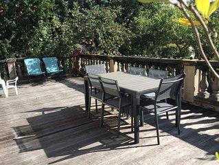 Charmante maison avec terrasse et jardin à 6 km de Paris et 30 km de Disneyland