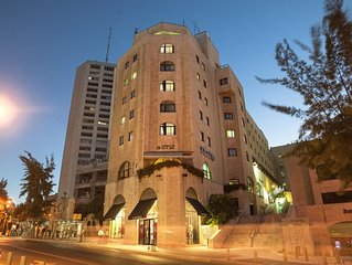 Perfect Downtown Hotel-Appartment in Jerusalem