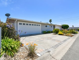 Amazing, Newly Remodeled Family Beach Home- Steps to the Beach!
