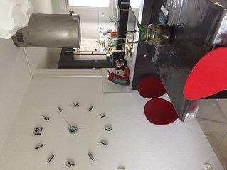 Charmant appartement avec deux chambres dans une résidence calme et sécurisée