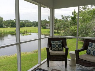 Relax on St. Simons Island in a fully stocked condo in the Sea Palms resort area