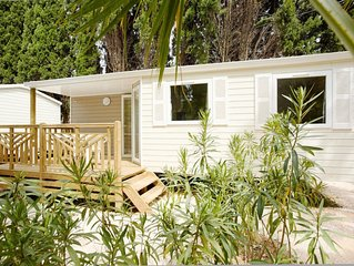 Camping Les Pirons***** - Mobil Home Evasion TV 3 Pieces 4/6 Personnes