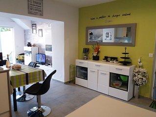 Pavillon de 120 m2,  2 appartements indépendants  idéal  pour 2 familles