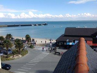 appartement duplex face à la mer avec vue sur le Mont Saint Michel