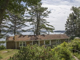 Classic Waterfront Cottage with Private Cove and Gardens - Boothbay Harbor