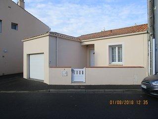 Charmante Maison Centre Ville Les Sables D'Olonne avec SPA et garage