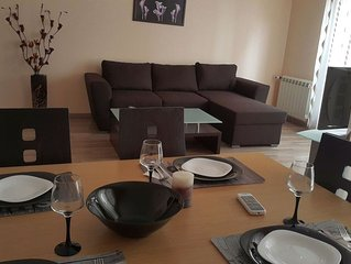 Luxury 2 Bedrooms Apartments For Rent In Sofia, Top Location, Free Parking