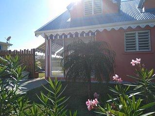 Ti cottage créole - Belle villa récente  avec 3 chambres et sa piscine privée