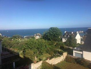 VAL-ANDRE, a 400m de la plage, belle maison vue mer