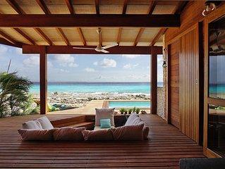NEW !! Beautiful Oceanfront Beach Lodge ! (PEPPER)