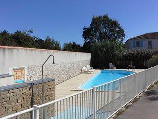 spacieuse maison dans résidence privée avec piscine