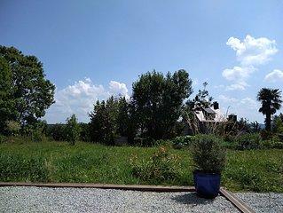 Landevennec centre village