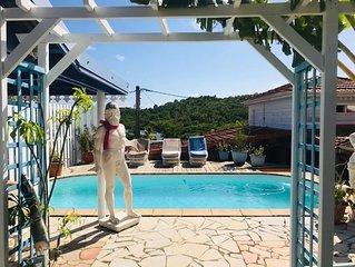 Jolie maison avec acces piscine