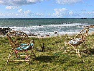 Villa des Courlis, 8 personnes, plage à vos pieds