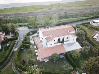 Charming Villa Marina with seaview (at 50 mt from the shore)