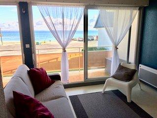 Appartement T1 vue mer / plage porigo / port Haliguen