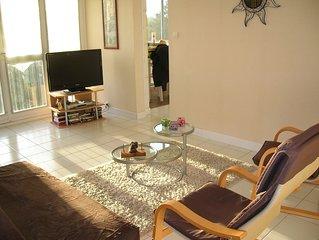 Appartement 70m2, limitrophe des Sables d'Olonne, situe a 500m de la plage