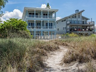 New Construction - Direct Beach Front Pool Home - 6 Bedrooms - 4.5 Baths