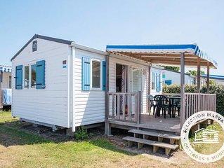 Camping L'Océan ***** - Maeva Camping - Mobil Home Loisirs 3 Pièces 4 Personnes