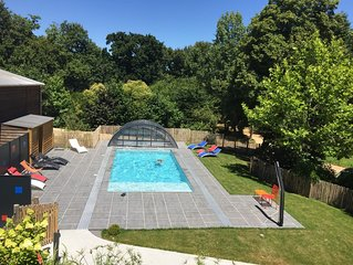 Gîte 7 personnes, classé 4*, piscine chauffée, proche des Sables d'Olonne