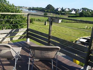 AU FIL DE L' EAU, Gite en Bretagne sud, situe au bord de la RIA d'Etel, Morbihan