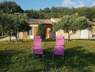 Villa Les Oliviers, pleine campagne proche village