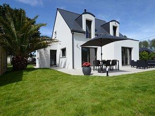 Maison neuve 4*  proche de la mer à Trégastel (Côte de Granit Rose)