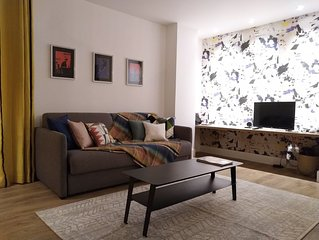 Bel appartement confortable, neuf, centre d' Auray - 10km plages