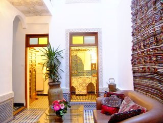 DAR SIENNA CUTE AND COSY HOUSE. YOUR HOME IN THE HEART OF THE ANCIENT MEDINA