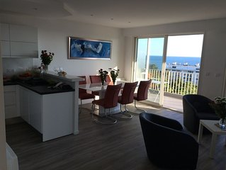 Appartement refait à neuf avec vue mer quartier Lajarrige