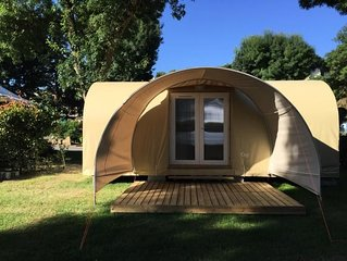 Camping Isle Verte**** - Coco Sweet 3 pièces 4 personnes