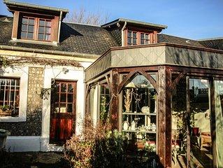 La P'tite Cauchoise maison entiere a louer ideale pour un couple.