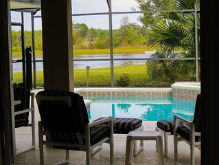Cranberry Palms - Premium Villa on the Lake in Orange Tree-10-15 mins to DISNEY
