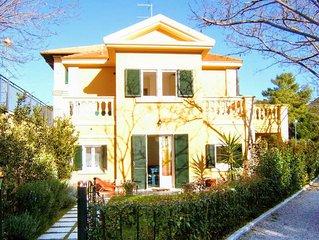 Toscane, Maremma, superbe maison vue mer avec jardin à San Vincenzo