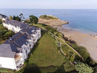 Appartement Les Terrasses de la Comtesse, acces direct a la plage...